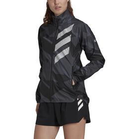 adidas TERREX Parley Agravic TR Windbreaker Women, grijs/zwart